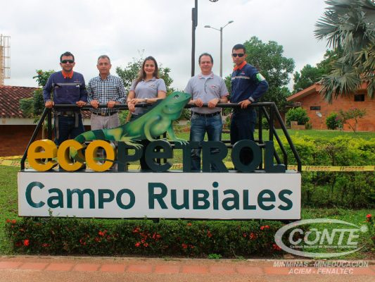 CONTE lleva capacitación sobre puesta a tierra a Campo Rubiales